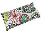 CARREDANA Cojines de Yoga de Semillas de Trigo con Lavanda y eucalípto (1Almohada con semilla de Trigo+Lavanda (Mandala Azul))
