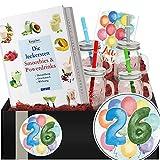 Geschenkidee 26. Jubiläum | Smoothie Kit | Geschenk Geburtstag Damen