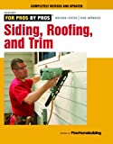 This edition of Siding, Roofing, and Trim from the editors of Fine Homebuilding provides all the advice you need to choose, install and detail the exteriors of your home. Articles will cover how to safely replace a roof while keeping in mind venting ...
