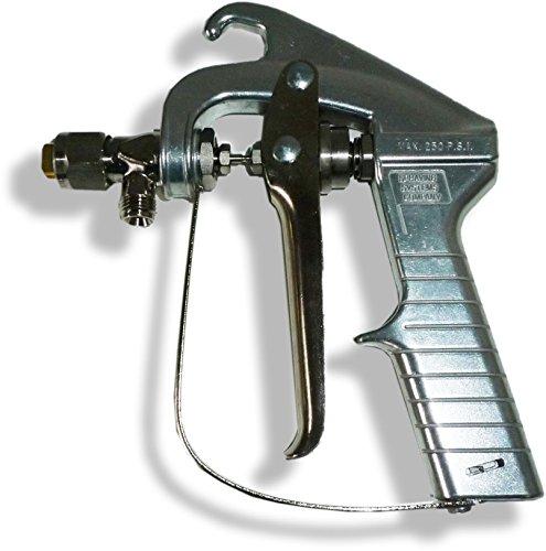 Mist Applikator (Sprühkleber Pistole mit 6501 Mist Düse | Tensorgrip | Quin Global | Pneumatisch Druckluft Druckluftpistole Klebepistole Applikator AuftragspistolePistole Klebstoff Kartuschenpistole Klebstoffpistole)