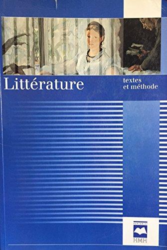Litterature Textes & Methodeedit 98 Hmh