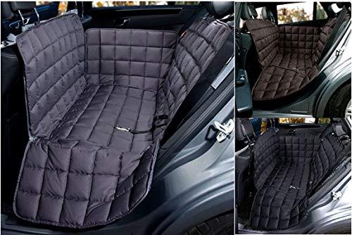 Doctor Bark 2-Sitz-Autoschondecke für die Rückbank - All-Side Schutz - Komfort-Schutz für den Mittelsitz und einen Außensitz, 3 Farben und 3 Größen - Gepolstert 3-sitz