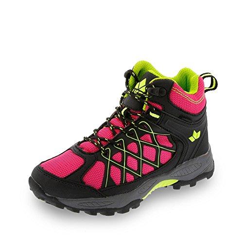 Lico Terrain, Chaussures de randonnée garçon rose/noir