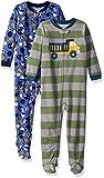 Carter's Boys' Toddler 2-Pack Fleece Pajamas, Green Dino/Fire - Best Reviews Guide