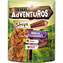 Adventuros Hundesnack Strips, (6 x 90 g)