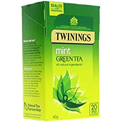 Twinings Green Tea with Mint 20 Btl. 40g - Grüner Tee mit Minze