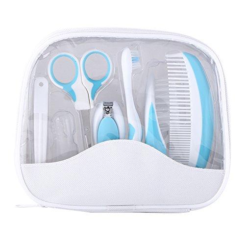 Zerodis 7 pz/set kit per il sonno profondo infantile beauty care di assistenza sanitaria sicuro infantile strumento quotidiano per capelli spazzola per capelli nail forbici hot