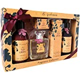 Di Palomo Wild Fig & Grape Luxury Gift set Perfume, Hand and body wash and lotion, hand and nail cream and lip balm