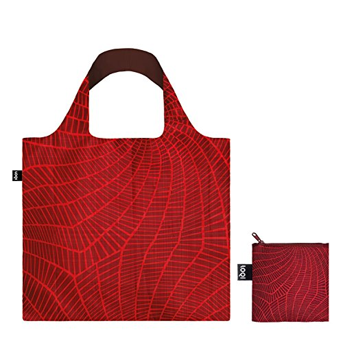 ELEMENTS Water Bag: Gewicht 55 g, Größe 50 x 42 cm, Zip-Etui 11 x 11.5 cm, handle 27 cm, water resistant, made of polyester, OEKO-TEX certified, can carry up to 20 kg Fire