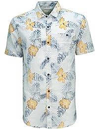 Soulstar Palooza Hommes Tropical Chemise Hawaïenne