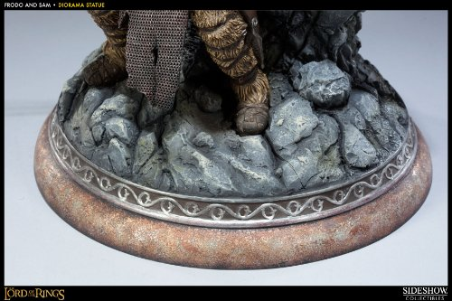 The Lord of the Rings - Frodo Baggins & Samwise Gamgee Statue (japan import) 5