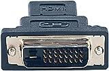 auvisio Grafik Adapter: Display-Adapter HDMI-Buchse auf DVI-D-Stecker (HDMI zu DVI Konverter)