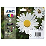Epson C13T18064012 Original Multipack für Expression Home XP-102/202/205 schwarz