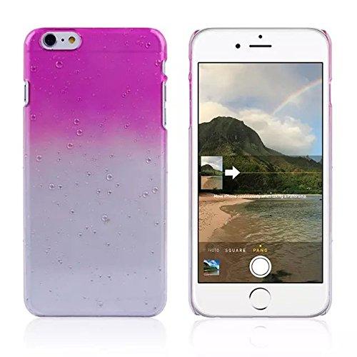 iPhone 6 / 6s shell Ultra Slim Raindrop Cristal Bling Case Rhinestone, iPhone 6 Case, 6s iPhone shell, jaune pourpre