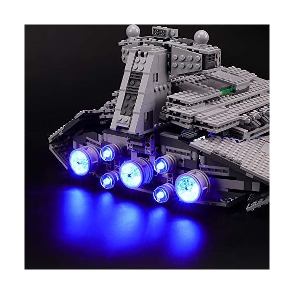 BRIKSMAX Kit di Illuminazione a LED per Lego Star Wars Imperial Star Destroyer, Compatibile con Il Modello Lego 75055… 3 spesavip