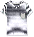 Marc O' Polo Kids Jungen T-Shirt 1/4 Arm, Blau (Sky Captain 3980), 104
