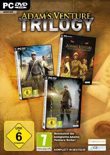 Adams Venture Trilogy