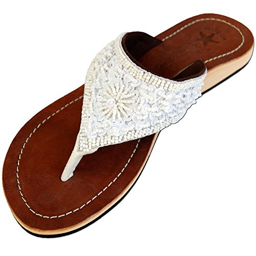 seestern-damen-echtleder-zehentrenner-zehensandale-zehensteg-sandalen-ingr36-44-weisstone-eur-44
