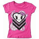 Metal Mulisha T-Shirt / Top / Tank Girls MINDY TEE HOT PINK: Größe T-Shirt: XL