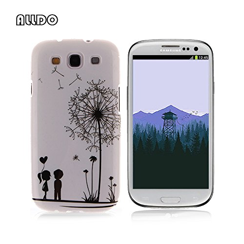 0c976cd4c67 AllDo Funda Silicona para Samsung Galaxy S3 i9300 Carcasa Protectora Caso  Suave TPU Soft Silicone Case