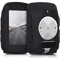 kwmobile Housse GPS vélo - Accessoire pour Garmin Edge 520 - Protection boitier navigateur - Étui en Silicone Noir