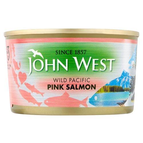 JOHN WEST Saumon Rose 165 g