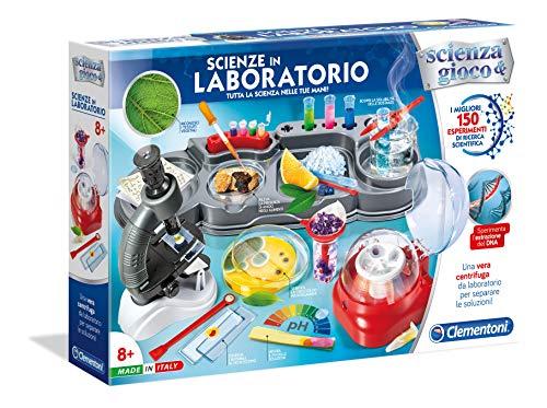Clementoni Gioco-Scienze in Laboratorio, Colori Assortiti, 13998