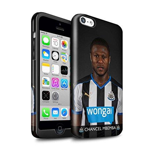 Officiel Newcastle United FC Coque / Brillant Robuste Antichoc Etui pour Apple iPhone 5C / Pack 25pcs Design / NUFC Joueur Football 15/16 Collection Mbemba
