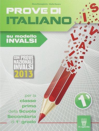 Prove di italiano su modello INVALSI. Con espansione online. Per la Scuola media: 1