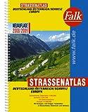 Falk Straßenatlas Deutschland /Österreich /Schweiz /Europa 2008/2009 (Falkplan)
