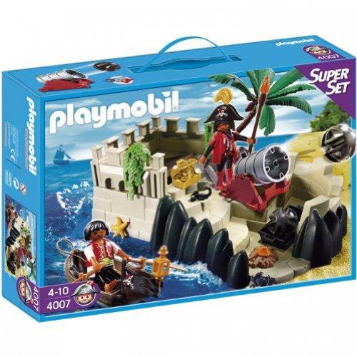 PLAYMOBIL 4007 - Super Set Piratenfestung