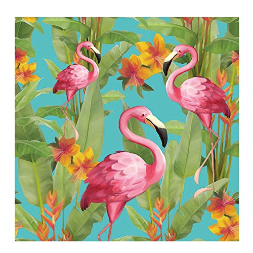 Ambiente Servietten Lunch / Party 33x33cm Flamingo's