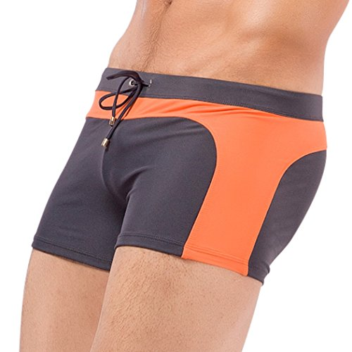 WALK-LEADER Herren Badeshort, Gestreift 06