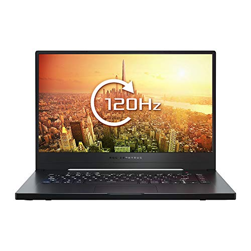 ASUS ROG Zephyrus G GA502DU 15.6 Inch FHD 120 Hz Thin Bezel Gaming Laptop - (NVIDIA GTX 1660Ti 6 GB Graphics, AMD Ryzen R7-3750H Processor, 512 GB PCI-e SSD, 8 GB RAM, Windows 10)
