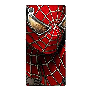 Gorgeous Spide Two Red Back Case Cover for Sony Xperia Z3