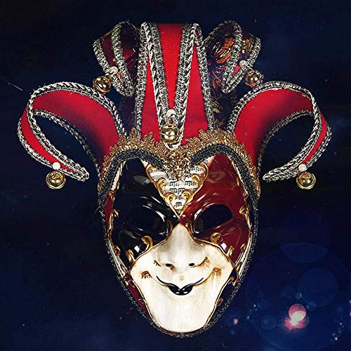 Kostüm Klassische Clown - CXXX Maske, kostüm Maske, dekorative Maske