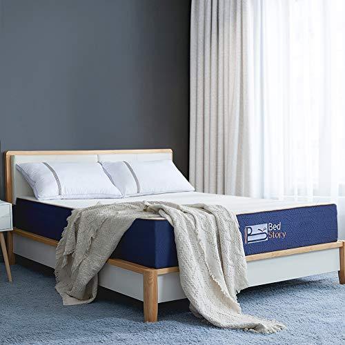 BedStory Matelas 90x190x18 cm à Mémoire de Forme avec...