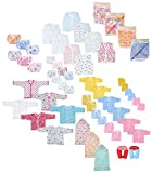 #10: Baby Fly Newborn Baby Gift Set, 0-8 Months (Multicolour) - Pack of 10