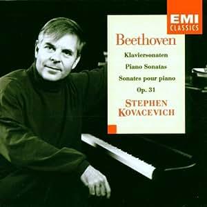 Sonates pour piano n°16 ; n°17 La Tempête; n°18 La Chasse (Opus 31)
