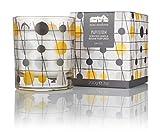 Mini Moderns Pavilion Scented Candle, Mustard, Slate, 200 g
