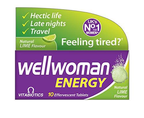 Vitabiotics Wellwoman Energy (Lime) 10 Tabs Rrp, 70 g