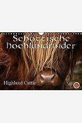 Schottische Hochlandrinder - Highland CattleAT-Version (Wandkalender 2017 DIN A4 quer): Erleben Sie schottische Hochandrinder, die Rinderrasse die ... (Monatskalender, 14 Seiten ) (CALVENDO Tiere) Kalender