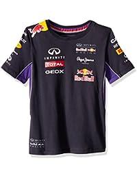 Red Bull - Camiseta de manga corta - para niño, color Azul - azul,