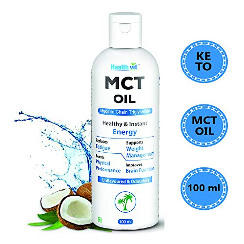Healthvit Healthy and Instant Energy MCT Oil - 100 ml