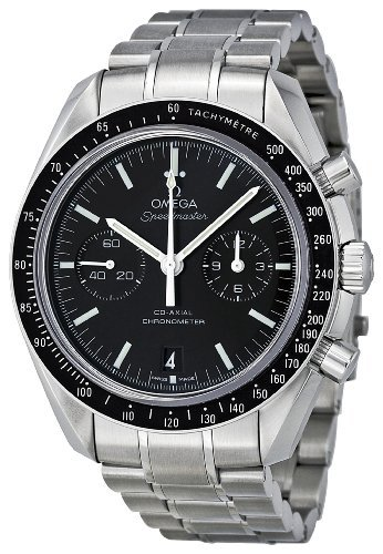 Omega Men's 311.30.44.51.01.002 Speedmaster Moon Black Dial Watch by Omega