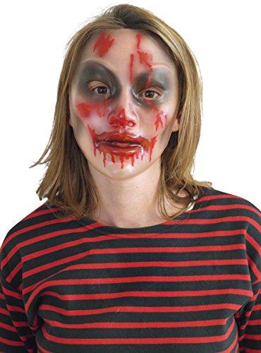 Transparente Halloween Maske für (Mimen Kostüme Halloween)