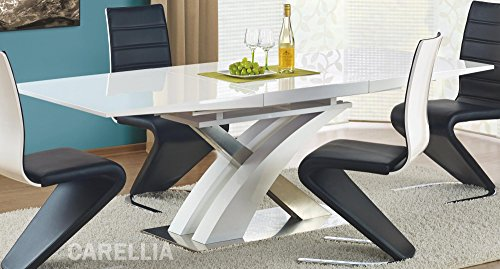 Table A Manger Design Extensible 160÷220/90/75 CM - Blanc