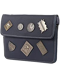 Navy Blue Stylish Unique Look Sling Bag For Mother's Day