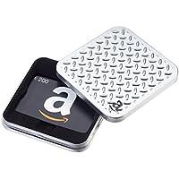 Amazon.de Geschenkgutschein in Geschenkdose (Metallmuster) - mit kostenloser Lieferung am nächsten Tag