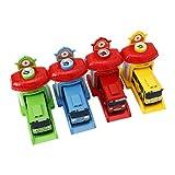 ZJL220 Sparatoria Garage Modello di Auto Giocattolo Veicoli Modello di Autobus per Bambini Regali per Bambini